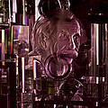 Einstein In Crystal - Purple by Christi Kraft