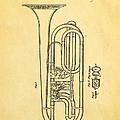 Eisenbrandt Cornet Patent Art 1854 by Ian Monk