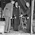 Eisenhower Greets De Gaulle by Underwood Archives