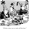 Either Cheer Up Or Take Off The Hat by William Steig