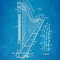 Ekman Harp Patent Art 1905 Blueprint by Ian Monk