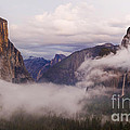 El Capitan Rises Over The Clouds by B Christopher