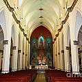 El Carmen Church Interior Panama City by James Brunker