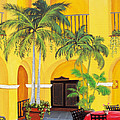 El Convento In Old San Juan by Gloria E Barreto-Rodriguez