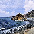 El Golfo Beach On Lanzarote by Karol Kozlowski