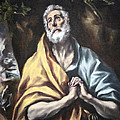 El Greco's The Repentant Saint Peter by Cora Wandel