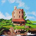 El Morrillo Fort In Matanzas Cuba by Dominica Alcantara
