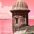 El Morro In The Pink by The Art of Alice Terrill