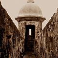 El Morro Sentry by Christine Stack