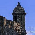 El Morro's Garitas by Mary Lou Chmura