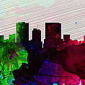 El Paseo City Skyline by Naxart Studio