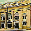 El Reno Oklahoma Opera House And Theatre 1910- Dwight Goss by Dwight Goss