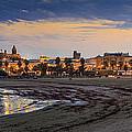 El Rompidillo Beach Panorama Cadiz Spain by Pablo Avanzini
