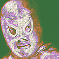 El Santo The Masked Wrestler 20130218v2m128 by Wingsdomain Art and Photography