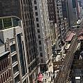 Chicago Loop Train Tracks  by Patrick  Warneka