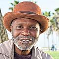 Elderly Black Man Smiling by Joe Belanger