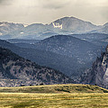Eldorado Canyon And Continental Divide Above by James BO Insogna