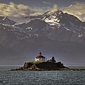 Eldred Rock Lighthouse Alaska by Ryan Smith