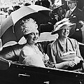 Eleanor Roosevelt & The Queen by Underwood Archives