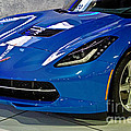 Electric Blue Corvette by Tom Gari Gallery-Three-Photography