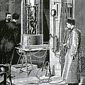 Electroplating The Dead, 1891 by Science Source