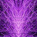 Electrostatic Purple by Peter Piatt