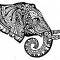 Elegant Elephant by Sadie Maughan