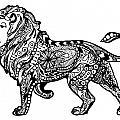 Elegant Lion by Sadie Maughan