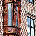 Elegant Window In Bergen by Laurel Talabere