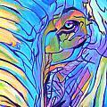 Elephant - Sky Blue by Alicia VanNoy Call