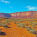 Elephant Butte From Wildcat Trail In Monument Valley Navajo Tribal Park-arizona   by Ruth Hager