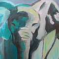 Elephant by Liesbeth Verboven
