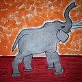 Elephant N Time Out by Earnestine Clay