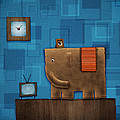Elephant On The Wall by Gianfranco Weiss