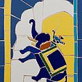 Elephant Rider by Haris Sheikh