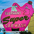 Elephant Super Car Wash by Inge Johnsson