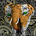 Elephant Tiger by Gary Keesler