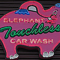 Pink Elephant - Elephant Touchless Car Wash by Jani Freimann