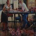 Elette De Wet And Uncle Jacques by Caroline Anne Du Toit