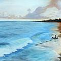 Eleutheran Seashore by Chris McCullough