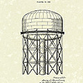 Elevated Tank 1933 Patent Art by Prior Art Design