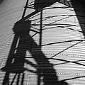 Elevator Shadow by Paul DeRocker