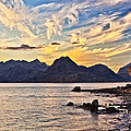 Elgol Beach At Sunset by Marcia Colelli