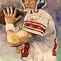 Eli Manning by Michael  Pattison