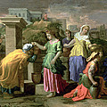 Eliezer And Rebecca At The Well by Nicolas Poussin