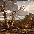 Elijah In The Desert by Washington Allston