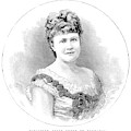 Elizabeth Of Romania (1843-1916) by Granger