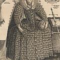 Elizabeth, Queen Of England, C.1603 by Crispin I de Passe