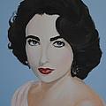 Elizabeth Taylor  by Desmond George