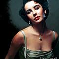Elizabeth Taylor by Paul Tagliamonte